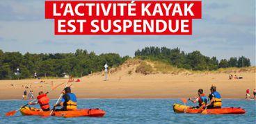 L'activité kayak n'exite plus